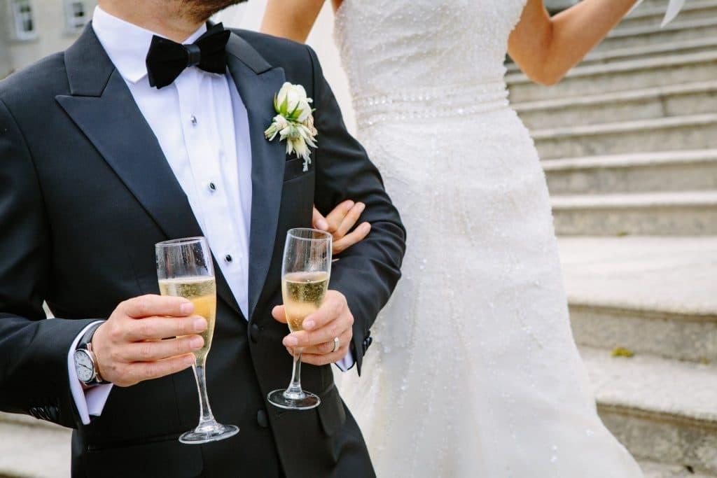 חתן וכלה לאחר החתונה